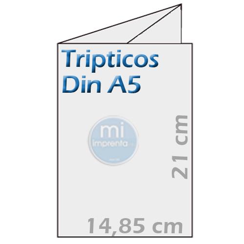 Ofertas Tripticos Din A5 Plegados
