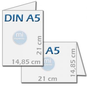 Imprimir dipticos a5