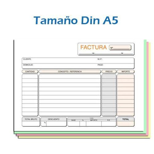 Imprimir Blocks en Papel Autocopiativo Din A5