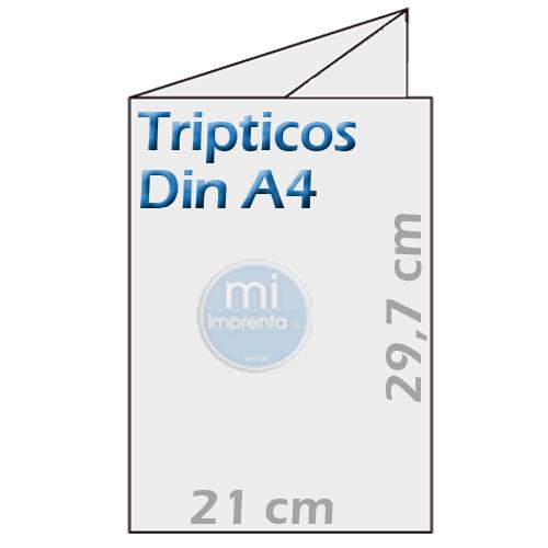Imprimir Tripticos Din A4 Plegados